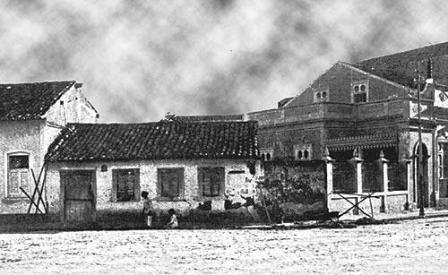 Residências (praça dom Pedro II)